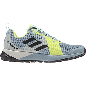 adidas TERREX Two Zapatillas Mujer, ash grey/core black/hi-res yellow
